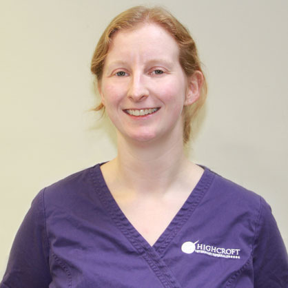 Charli Heard, RVN at Highcroft Veterinary Referrals