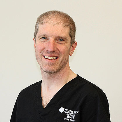 Ed Friend veterinary surgeon at Highcroft Veterinary Referrals