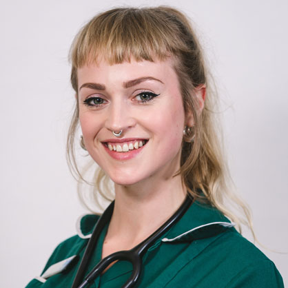 Ffion Jones, RVN at Highcroft Referrals